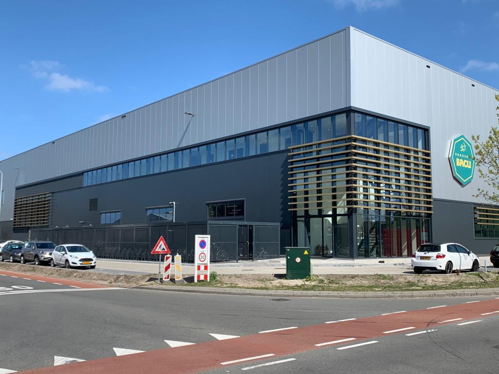 Aluminium kozijnen Nieuwbouw Banketbakkerij